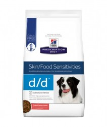Hills Prescription Diet d/d 皮膚與食物敏感配方狗糧 (馬鈴薯、三文魚) 8磅
