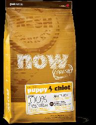 NOW FRESH™ 全犬種 無穀物 幼齡狗糧配方 (火雞+三文魚+鴨肉) 25磅