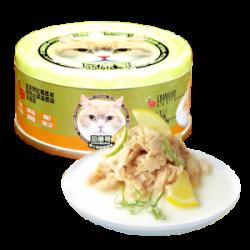 忌廉哥 三文魚魚湯 貓罐頭 70g