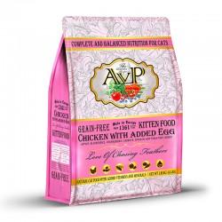 英國AVP 全鮮肉無穀物 幼貓乾糧 雞肉加雞蛋配方 (12磅)