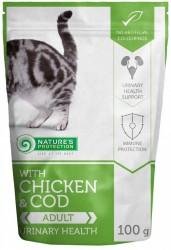 Nature's Protection 貓濕包 – 健康泌尿系統  雞+鱈魚味 (成貓用) 100g