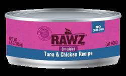 RAWZ 吞拿魚+雞胸肉絲 主食罐 5.5oz x24