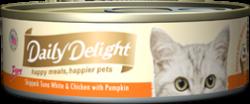 Daily Delight DD42 白鰹吞拿魚+雞肉+南瓜 80g x24罐優惠
