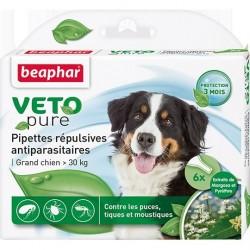 Beaphar VETO Nature 自然滴劑 (1盒3支 - 大型犬30kg以上 )  到期日: 25/09/2021