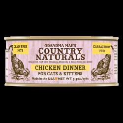 Country Naturals 無穀物雞肉醬煮配方 貓罐頭 5.5oz