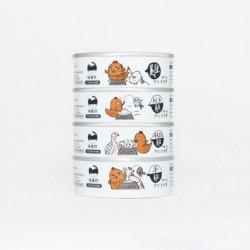 以下4款口各1罐, 共4罐 (不可自選/ 更改口味)  **如個別口味缺貨, 將會以其他口味代替而不作另行通知
