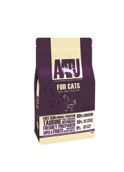AATU 85/15/0 無穀物 走地雞肉低敏天然貓糧 3kg