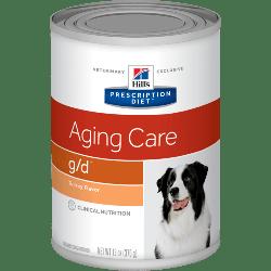 [凡購買處方用品, 訂單滿$500或以上可享免費送貨]  Hill's g/d 老年犬早期心臟處方 狗罐頭 13oz x12罐 原箱優惠