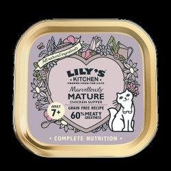 Lily's Kitchen 老貓專用餐 貓主食罐 85g (紫色) x19罐 原箱優惠