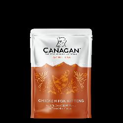 Canagan 原之選 無穀物幼貓貓 雞肉配方湯包 85g