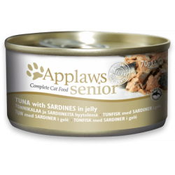 Applaws 啫喱系列 吞拿魚 & 沙丁魚 70g