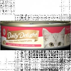 Daily Delight (DD-54) 白鰹吞拿魚+雞胸肉 80g x24罐優惠