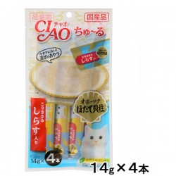 Ciao SC-103 雞肉+白飯魚醬 14g (14g x4)