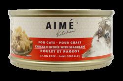 Aimé Kitchen 雞肉配鯛魚 Chicken with Seabream 貓罐 85g