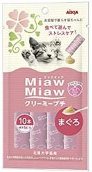 Miaw Miaw 日式貓咪肉醬 吞拿魚味 5g x10