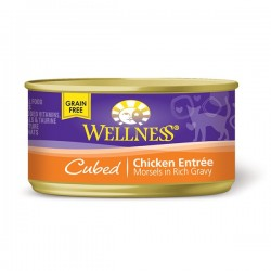 Wellness粒粒雞肉罐頭 3oz (85g) Cubed Chicken Entree