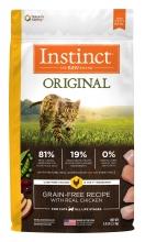 Nature's Variety Instinct 本能無穀物 雞肉貓糧 5磅