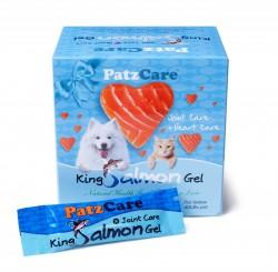<<4月優惠>> PatzCare 關節心臟三文魚油啫喱 (藍色~40磅以下貓狗適用)