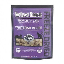 Northwest Naturals 凍乾全貓乾糧 - 白魚 311g (11oz) x2包優惠
