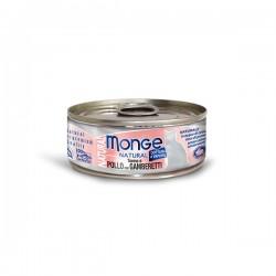 Monge  野生海魚系列 - 吞拿魚雞肉拼海蝦 貓罐 80g