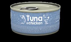 Naturea 無榖物鮮肉貓罐頭 - 吞拿魚+雞肉 80g x12罐優惠