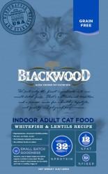 Blackwood Indoor Whitefish & Lentils Recipe 極鮮無穀 室內成貓配方 (白魚+扁豆) - 4lb 到期日: 31/01/2021