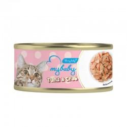 Be my baby  吞拿魚+蟹  貓罐頭 85g