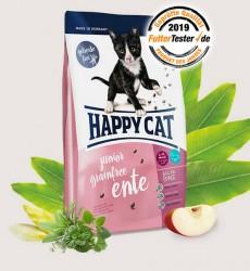 Happy Cat - 無穀物鴨肉 幼貓配方 4kg 到期日: 30/5/21