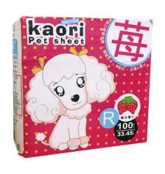 Kaori pet sheets 士多啤梨味尿片 30x45cm 100片 x8包優惠