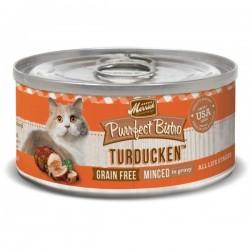 Merrick 無穀物 火雞+鴨肉 雞湯 貓罐頭 (Turducken) 5.5oz