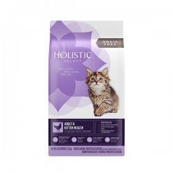Holistic select 活力滋 無穀物雞肉全貓配方 5磅