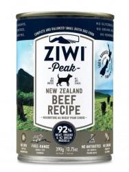 ZiwiPeak 牛肉 配方狗罐裝 390g x12罐優惠