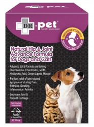 Dr. Pet 維骨素強化關節天然粉劑配方 (貓犬配方) 165g