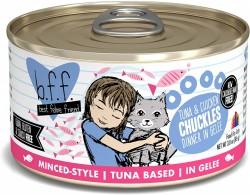 b.f.f. 罐裝系列 吞拿魚+雞肉 肉凍 156g (Chuckles)