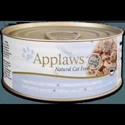 Applaws 天然貓罐頭 吞拿魚 & 芝士 156g x24罐優惠