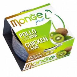 MONGE 清新水果系列 - 鮮雞肉配奇異果 貓罐頭  80g