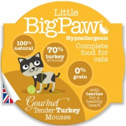 Little Big Paw 傳統火雞貓餐盒 mousse 85g