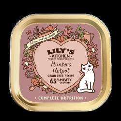 Lily's Kitchen 獵貓野味鍋 貓主食罐 85g (玫瑰色) x19罐 原箱優惠