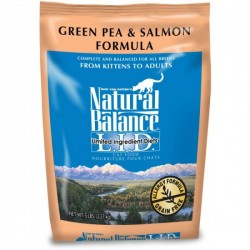 NaturalBalance抗敏三文魚豌豆貓糧 L.I.D. Green Pea & Salmon Formula Cat Food5磅