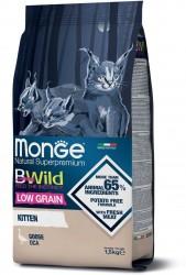 Monge 天然貓糧 低穀物 幼貓 野生鵝肉 配方 1.5kg (3.3lb)