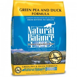 NaturalBalance抗敏鴨肉豌豆貓糧 Natural Balance L.I.D. Green Pea & Duck Formula Cat Food5磅
