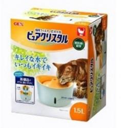 GEX 循環式貓飲水機 1.5L