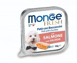 Monge Fresh 三文魚 狗餐盒 100g