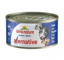 Almo Nature Alternative 吞拿魚貓罐頭-70g 到期日: 01/03/2021
