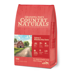 Country Naturals 三文魚白鮭魚全犬種配方 Salmon & Whitefish Meal ENTRÉE 4磅