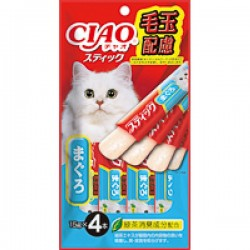 CIAO TSC-126 果凍片 化毛球 吞拿魚 15g (15gx4)