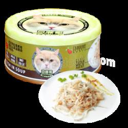 忌廉哥 吞拿魚 +白飯魚 貓罐頭 70g