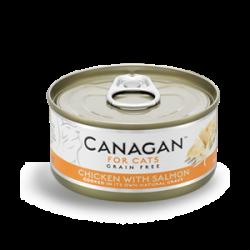 Canagan 原之選 雞肉+三文魚配方 75g
