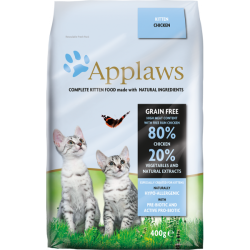 Applaws 全天然無谷物雞肉配方幼貓糧2kg