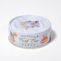 Fresh Can 泌尿機能主食罐 肉泥狀 成貓-雞肉 80g (橙色) x24罐優惠
